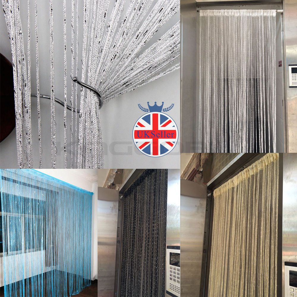 String curtain ideas -  8 29 For 2 Free P P New Glitter Fly Screen Glitter String Curtain Panels Room