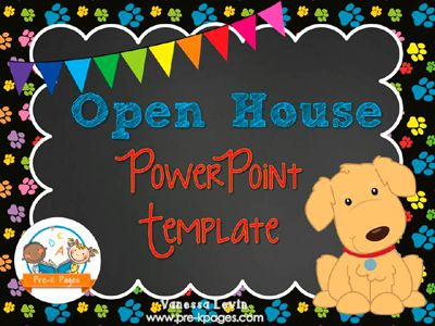 Parent Open House Open house, Kindergarten and Parent open house - new jungle powerpoint template