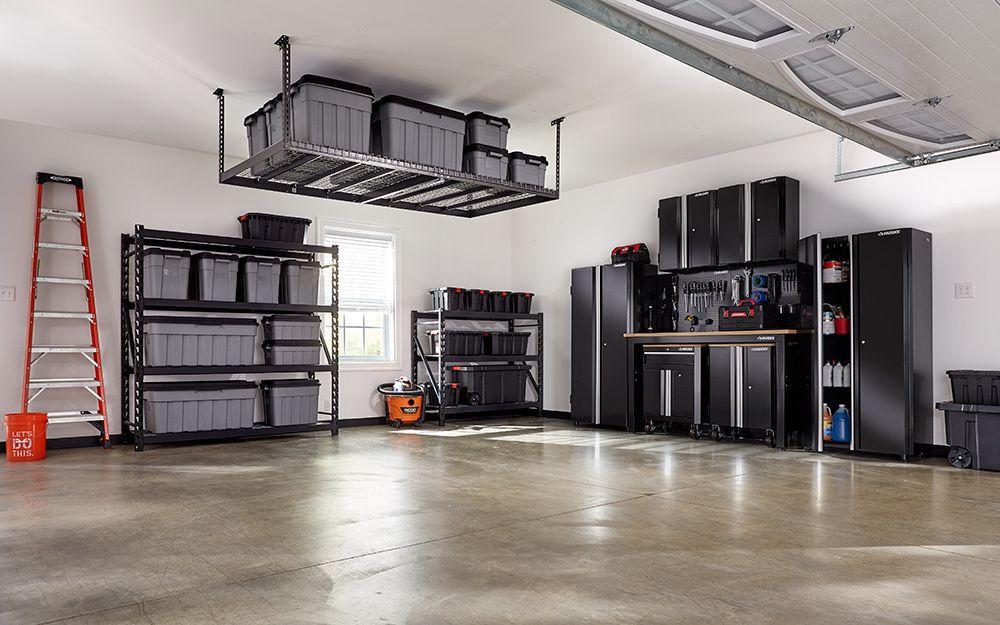 Consider Modular Storage Garage Storage Systems Home Depot