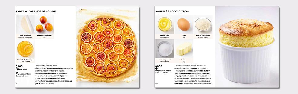 Simplissime desserts - Tarte à l'orange - Mousse coco ...