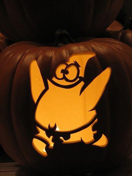 Spongebob Squarepants Birthday Party Ideas Scary Pumpkin Carving Disney Pumpkin Carving Cute Pumpkin Carving