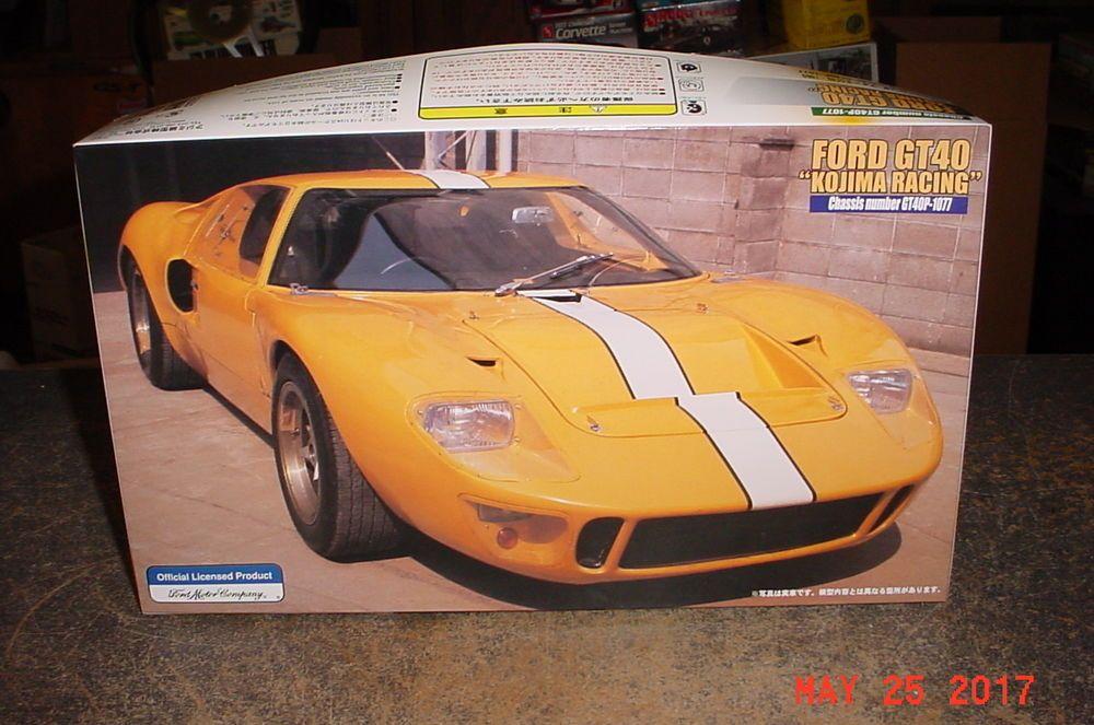 Ford Gt40 P 1077 1969 Kojima Racing 1 24th Scale Fujimi 12170 No