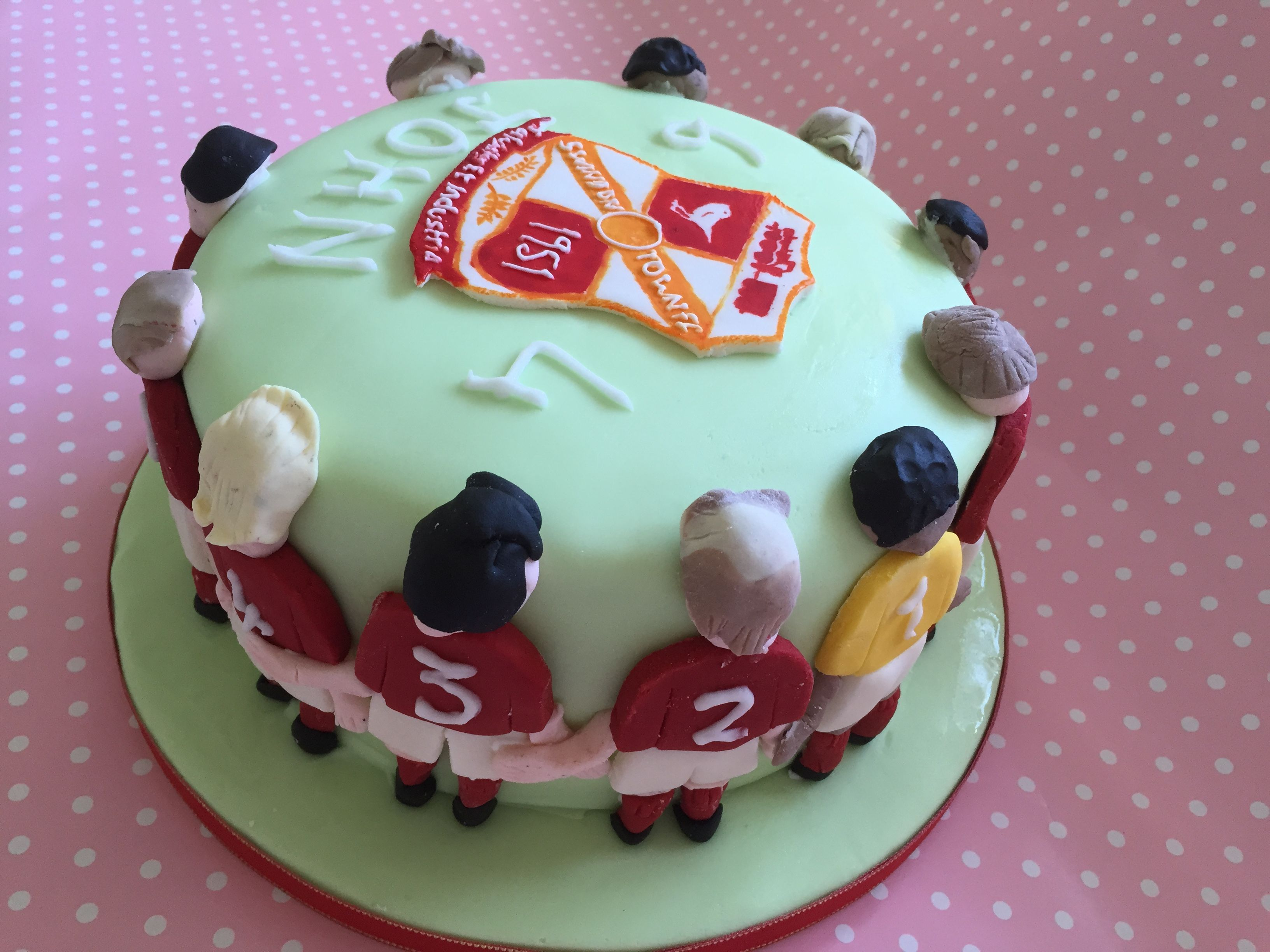 Swindon Town Football Club Birthday Cake My Projects Cake