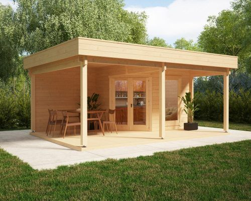 gartenhaus mit gro er terrasse und vordach remo 3 zuk nftige projekte pinterest gartenhaus. Black Bedroom Furniture Sets. Home Design Ideas