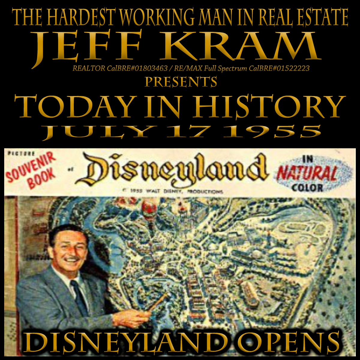 Today In History July 17 1955 Today In History History Song Of