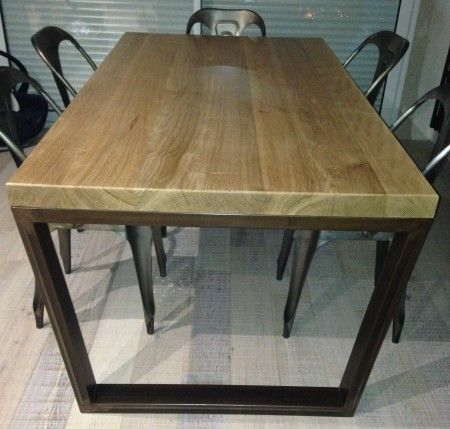 Diy Table Haute | Sam | Pinterest | Pieds De Table En Acier, Table