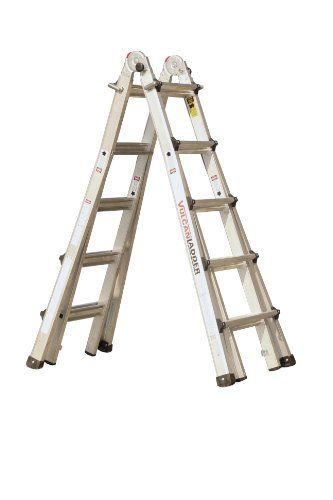 Aircraft Aluminum Mechanic Ladder Type Am8000 Series Steps On Both Sides Design Non Folding Design Is Extremely Rigid Ladder Aircraft Mechanics Design