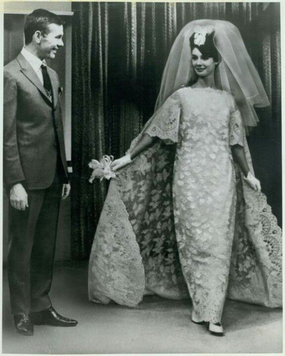 1960s Wedding Dress...I Think This Is Johnny Carson