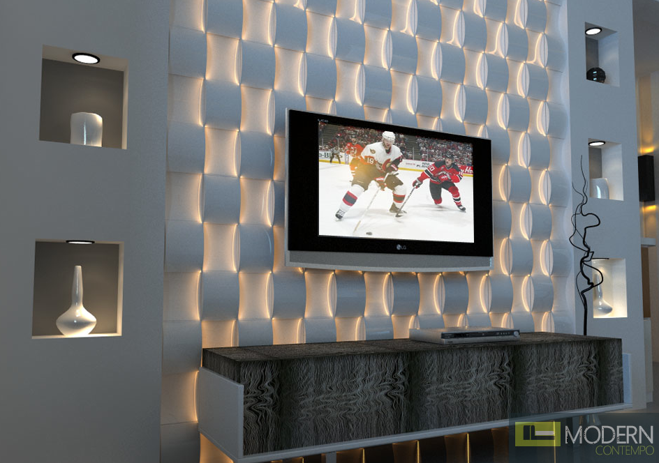 Take A Look In 12 3d Led Wall Panel To Spice Up The Atmosphere In Your House In 2020 Decorative Wall Panels Textured Wall Panels 3d Textured Wall Panels