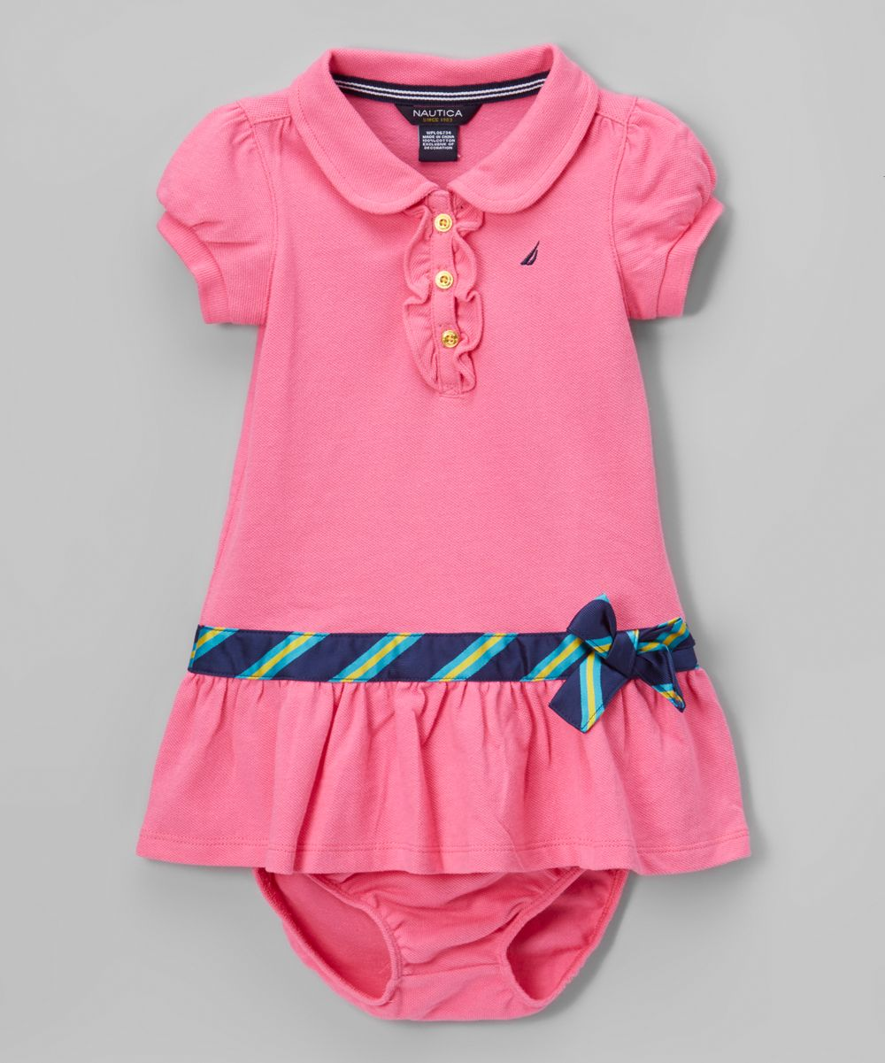 ba0ce4e0 Pink Piqué Polo Dress - Infant, Toddler & Girls | Products | Toddler ...