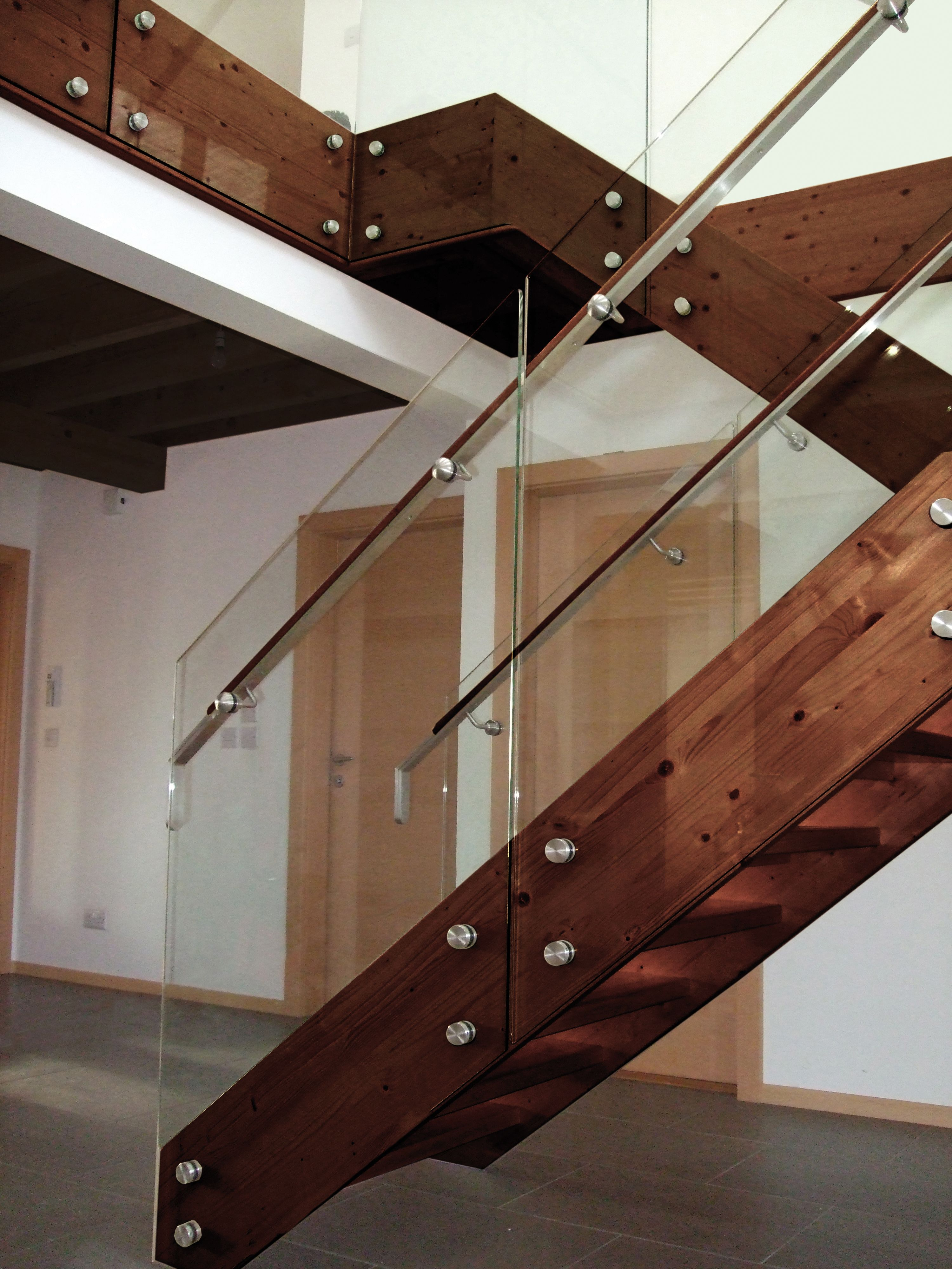 Best Wood Stainless And Glass By Indital Usa Glass Railing 400 x 300