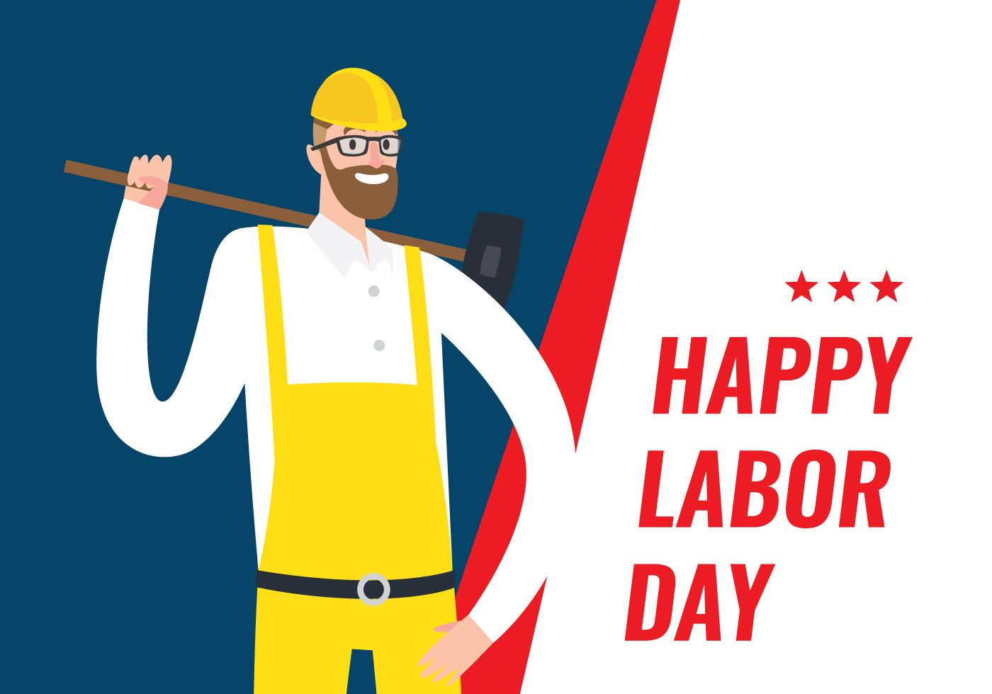 Labour Day Which Is Also Called Eight Hours Day Is Honoured As A Public Holiday It Is Celebrated On First M Labor Day Clip Art Happy Labor Day Free Clip Art