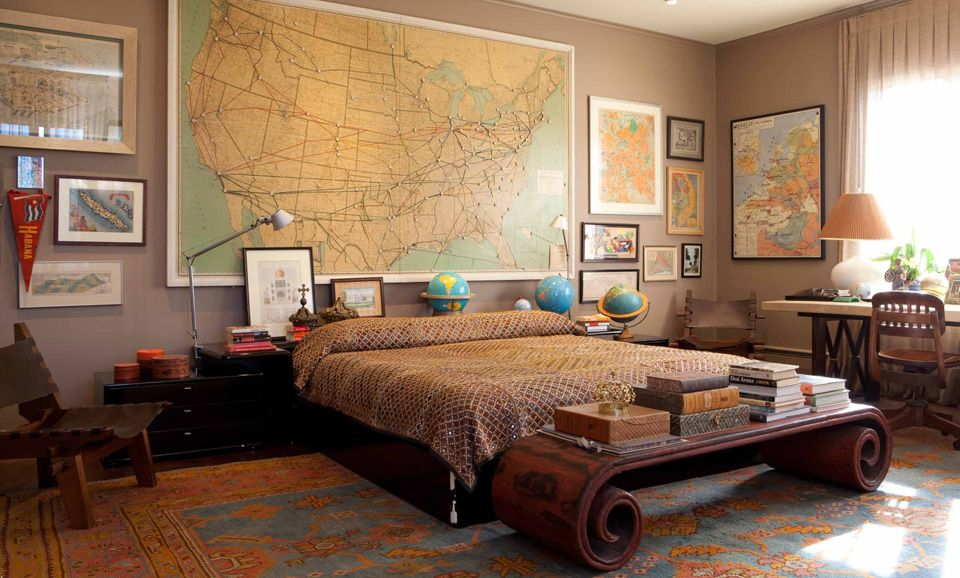 5 Masculine Bedrooms That Arenu0027t the Typical Bachelor Pad Look