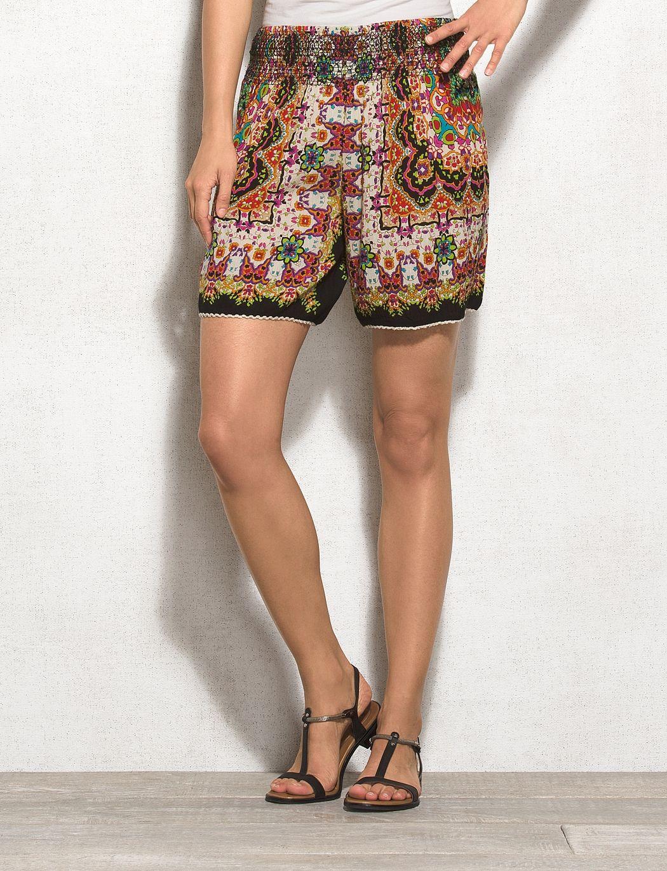 Printed Soft Shorts | dressbarn