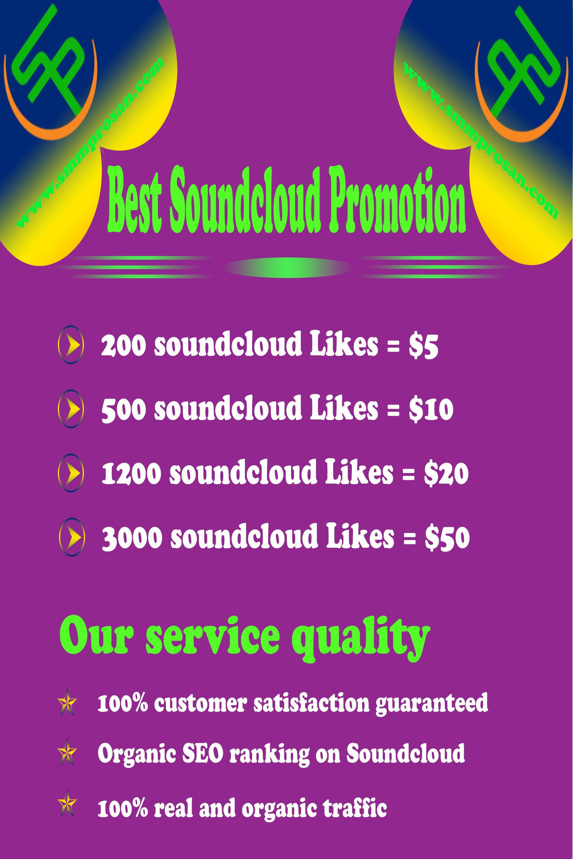 Best Sound Cloud Promotion Soundcloud, Soundcloud