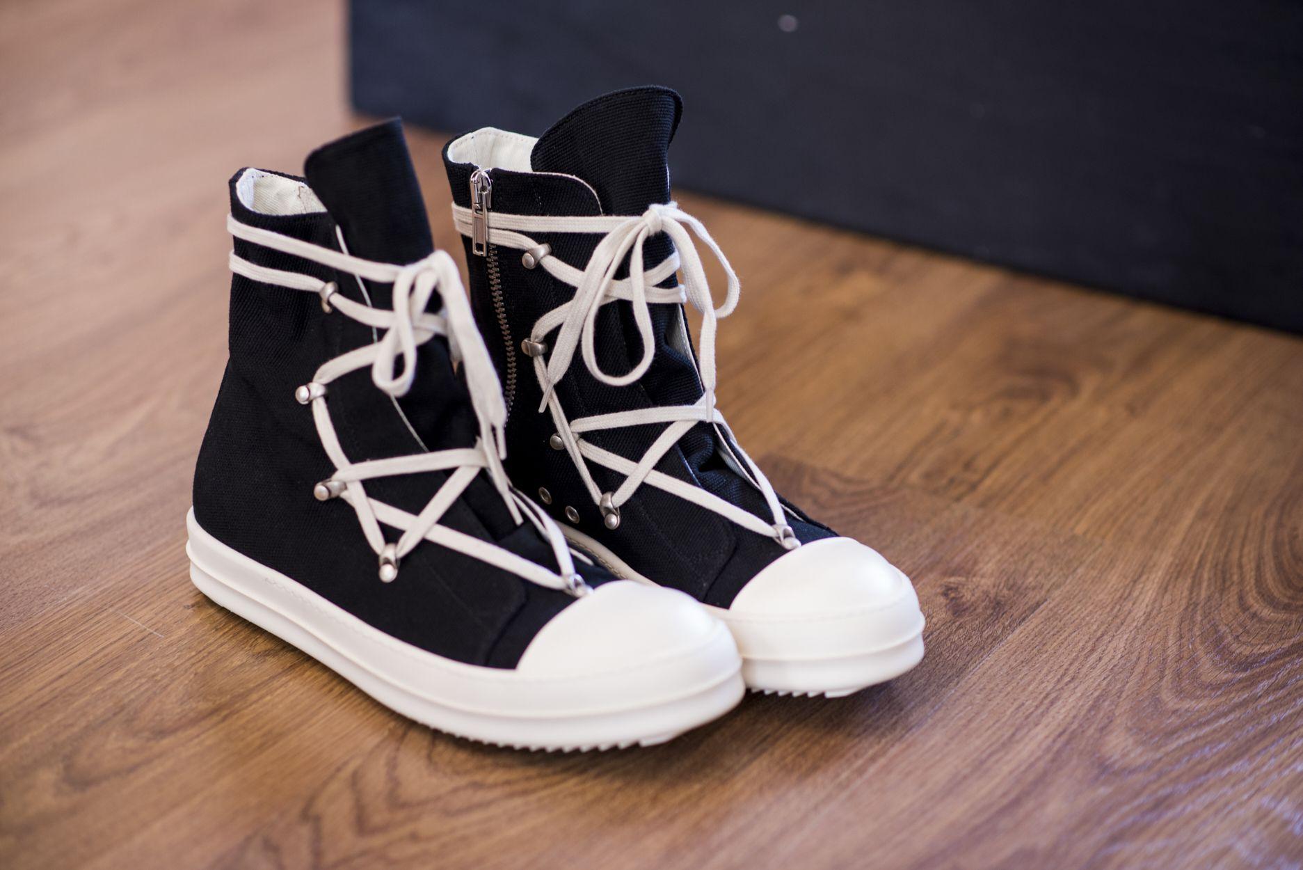 Rick Owens DRKSHDW - Hexagram Sneakers