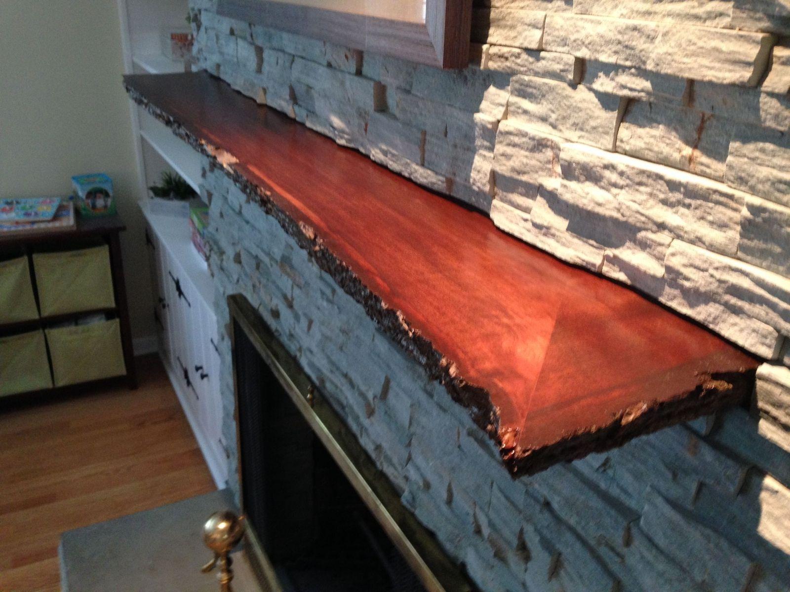 Reclaimed Wood Mantel Fireplace Custom Design Ideas