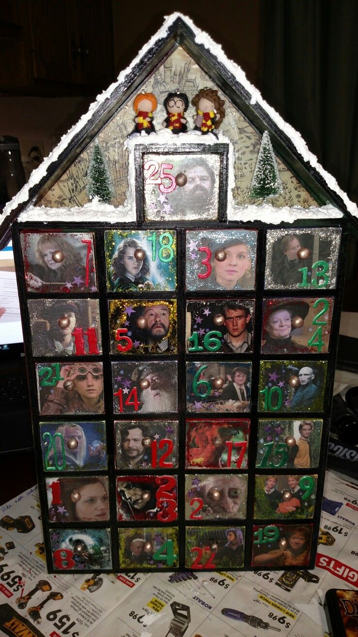 Harry Potter Advent Calendar.Harry Potter Advent Calendar For Christmas Harrypotter Fandoms