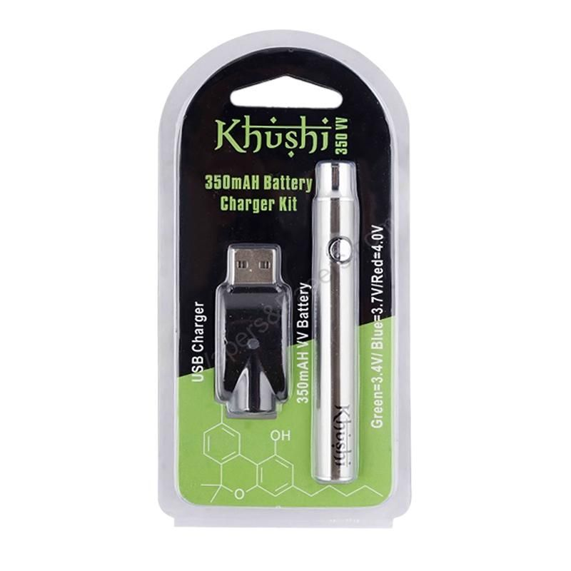 Khushi 350 Battery W Usb Charger 350mah Variable Voltage Battery Usb Chargers Usb Charger