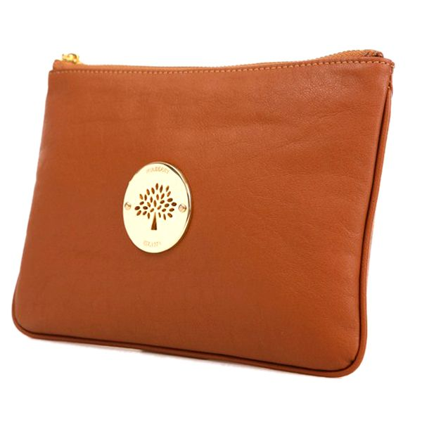 ... sweden mulberry womens small daria leather clutch bag light coffee  109.99 save 77 off 79505 140c4 6fab2a6a418d8