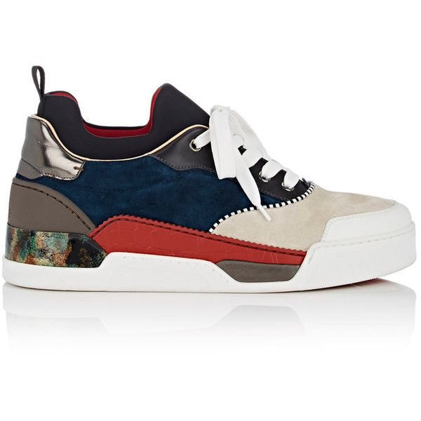 96aa94cd99e Christian Louboutin Men s Aurelien Flat Sneakers ( 1