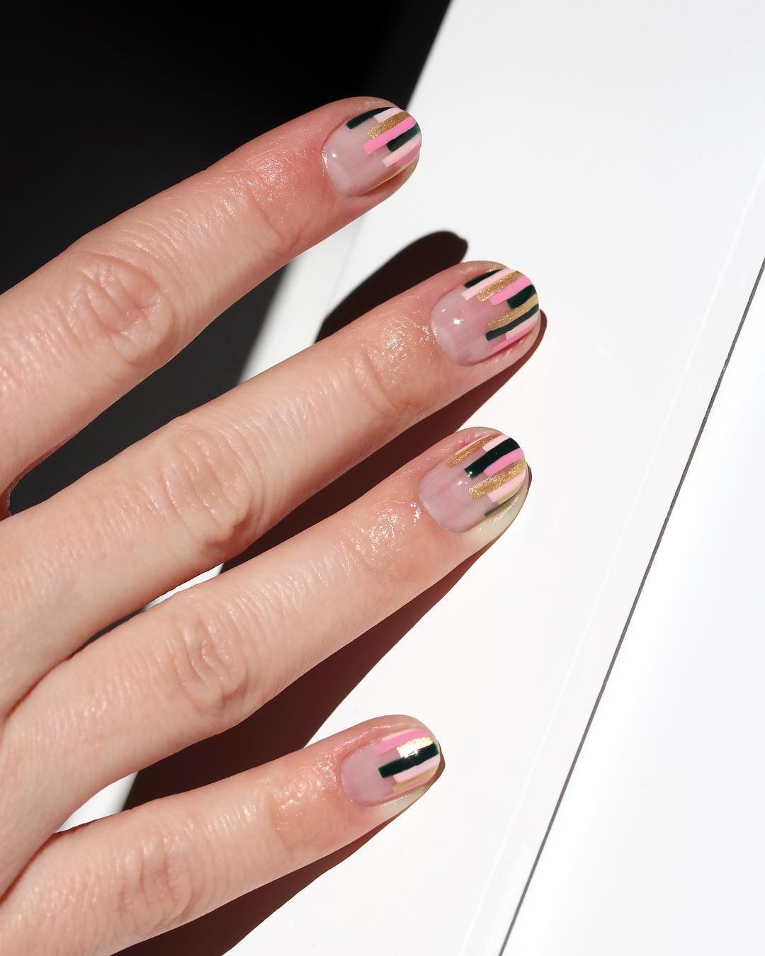 Chelsea King On Instagram Tgif Here S A Tip I Always Keep Clear Base Top Gel Polish On My Nails It Prevents Breaks Chip Nails My Nails Nail Polish