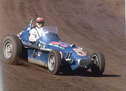 bobby marshman in lindsey hopkins meskowski built champ car 1963 dirt track racing old race. Black Bedroom Furniture Sets. Home Design Ideas