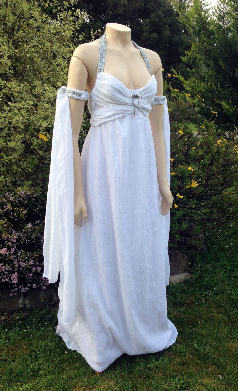 Khaleesi Daenerys Wedding Dress Cosplay In Cotton Made Custom For You Wedding Dress Costume Costumes Adult Women Dresses,Wedding Pakistani Women Dress