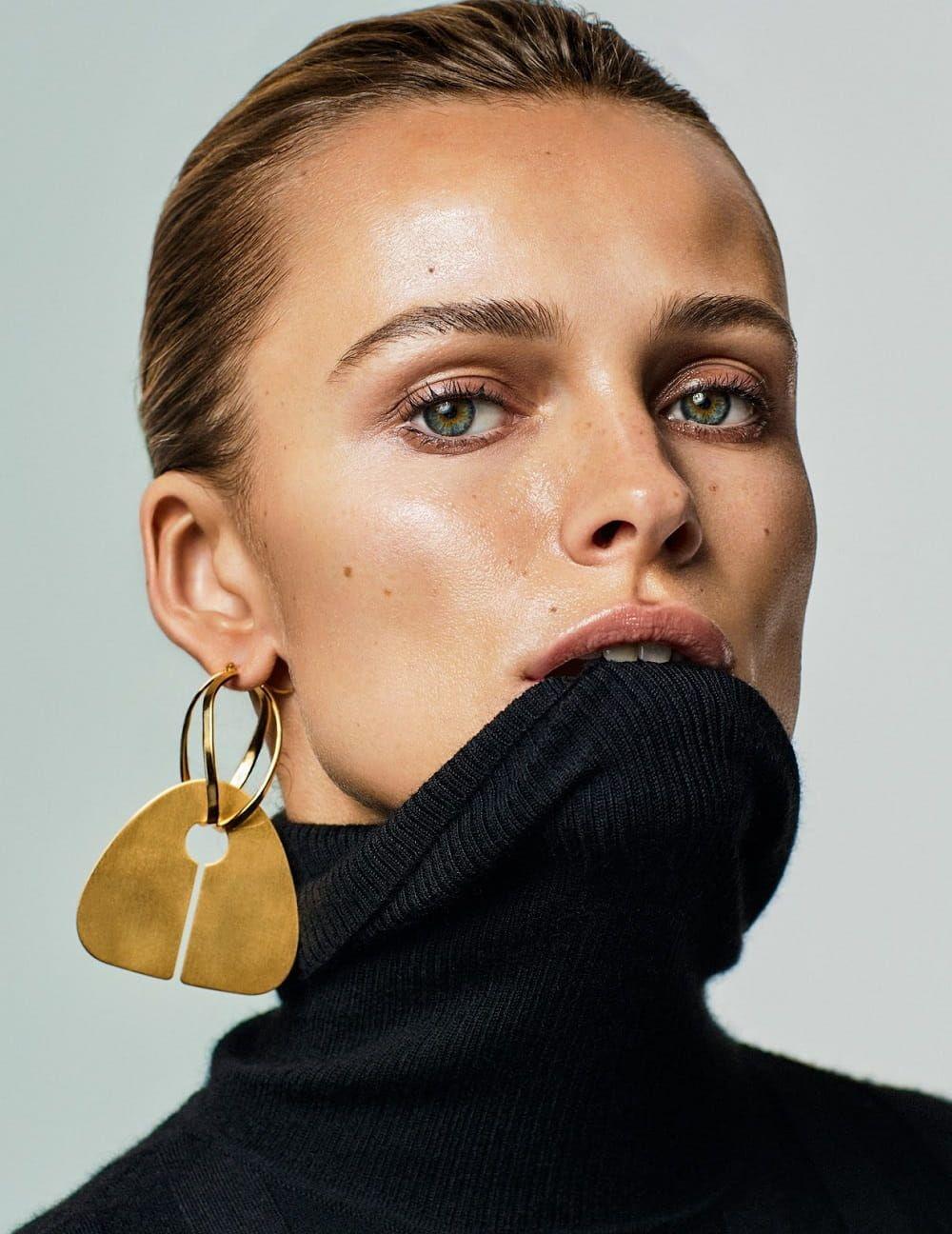 Photo of Edita Vilkeviciute by Alique x Nicola Knels for Vogue Germany – Minimal. / Visual.