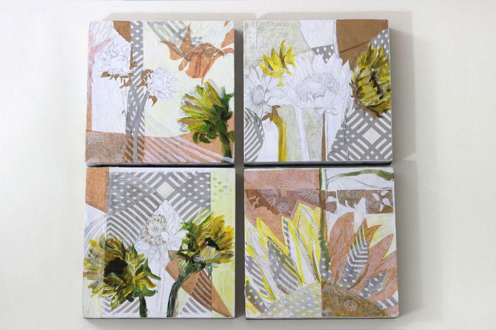Sunflowers by Mary Jo Major