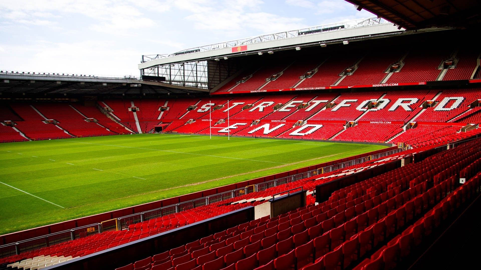 Old Trafford Hd Wallpapers For Desktop In 2020 Manchester United Wallpaper Old Trafford Trafford