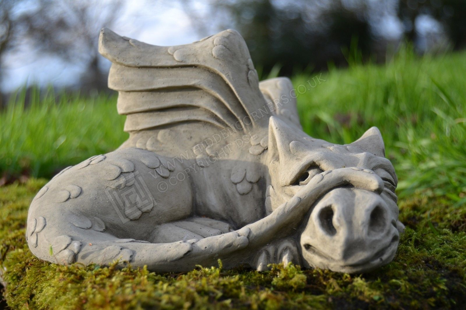 James-dragon #garden ornament-gargoyle-sculpture #stone #statue ...