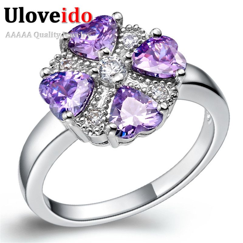 Find More Rings Information about 2016 New Topaz Flower Silver Plated Ring Cubic Zirconia Rings Female Ring Finger Fashion Women Jewelry Crystal Wedding Gift J362,High Quality jewelry connector,China jewelry poems Suppliers, Cheap jewelry gift basket from D&C Fashion Jewelry Buy to Get a Free Gift on Aliexpress.com
