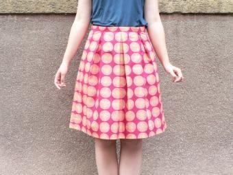 ba243430b35d Skládaná sukně krok za krokem   Jana Admin
