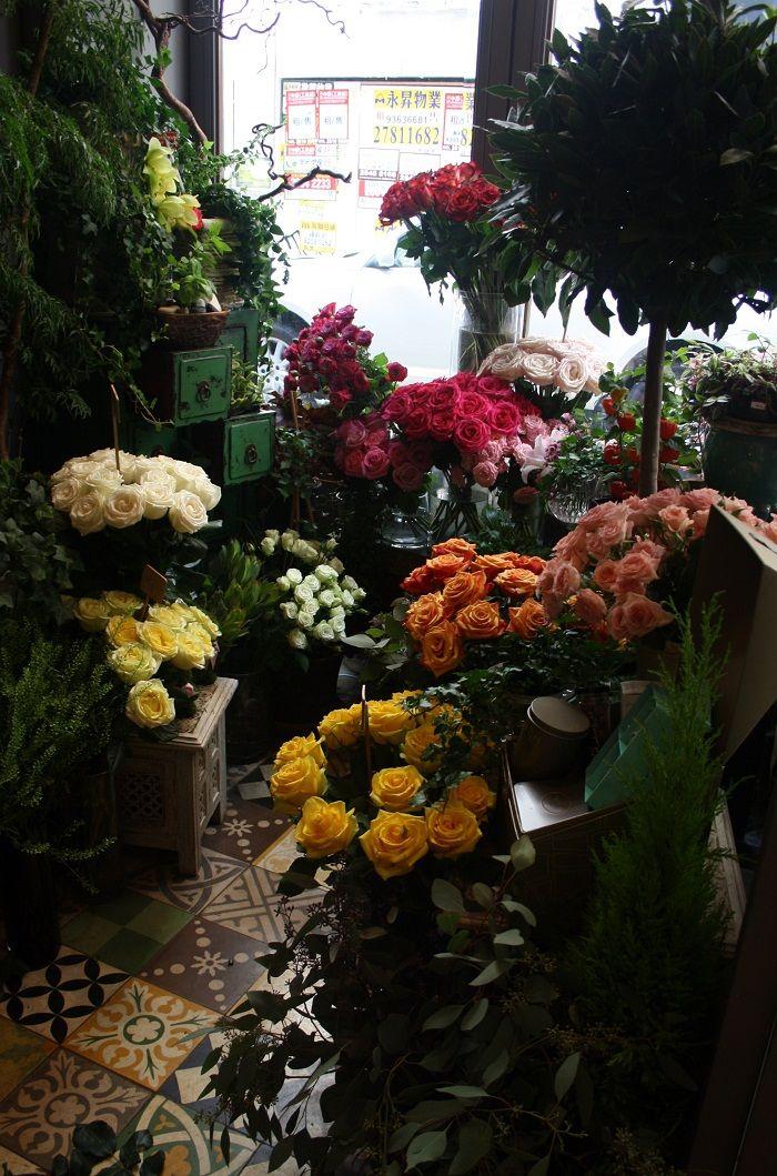 Florist At Agnes B Cafe In Hong Kong Flower Cafe Mini Garden Florist