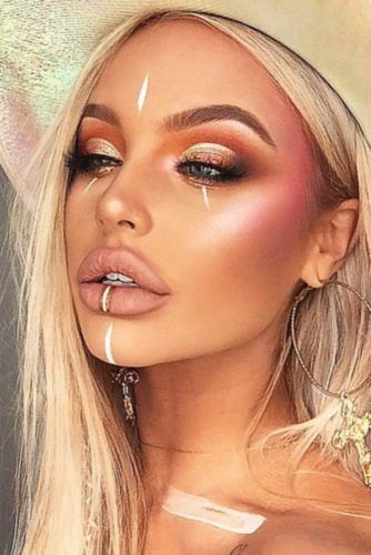 1847a922899 30 Coachella Makeup Inspired Looks To Be The Real Hit | Boho | Kos