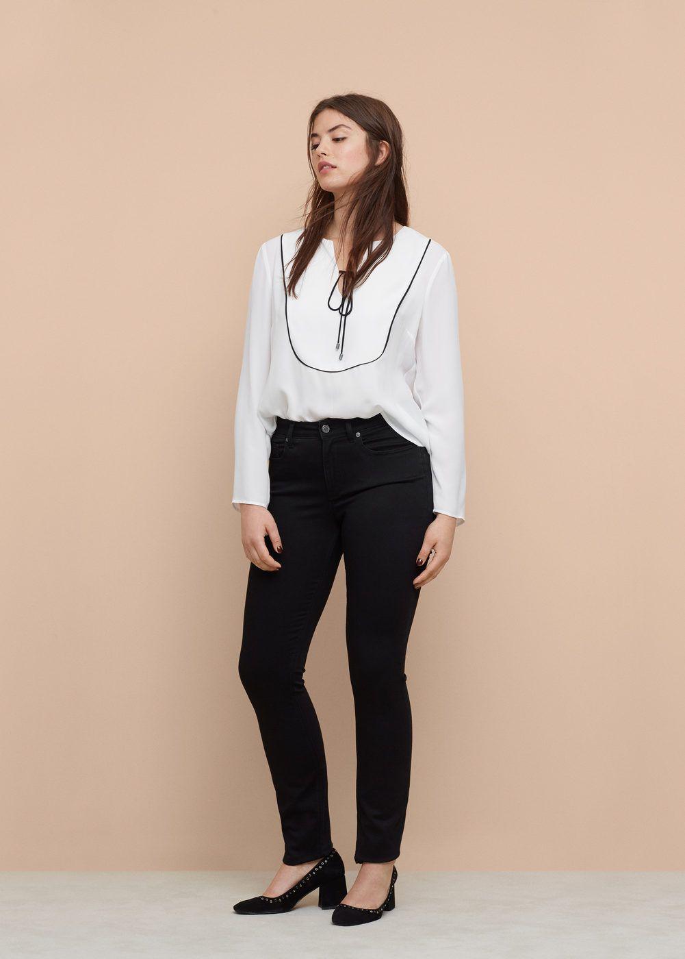 Plus Zip Jeans Wardrobes Fit Black Sizes Valentin And Slim wztvf