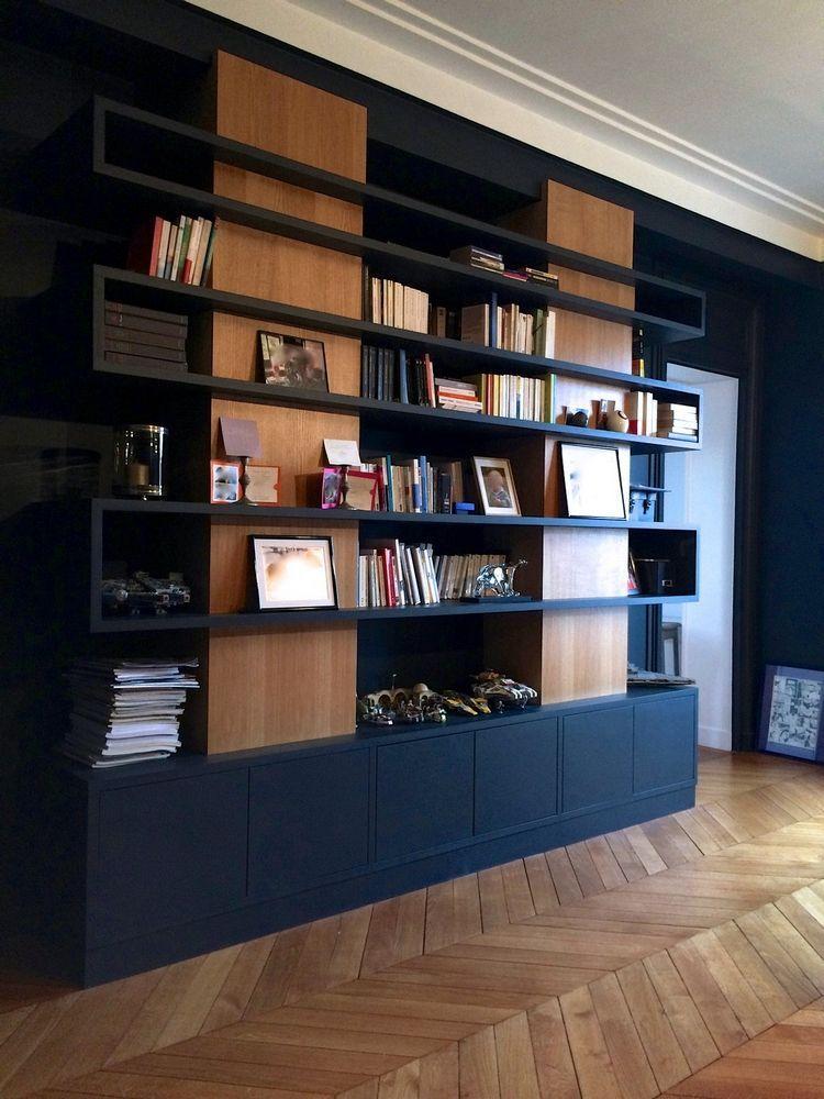 bibliotheque sur mesure amenagement bibliotheque sur mesure sur mesure dressing tv meuble placard portes agathe ogeron decoratrice d interieur a