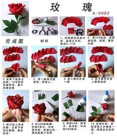 Fold Paper Roses To Your Beloved Girl Oh
