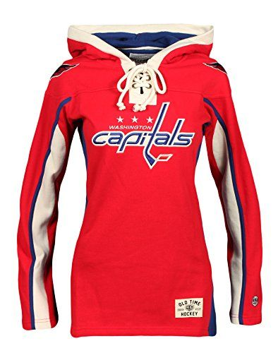db75c398 NHL Washington Capitals Women's Heavyweight Hoodie, Medium, Red ...
