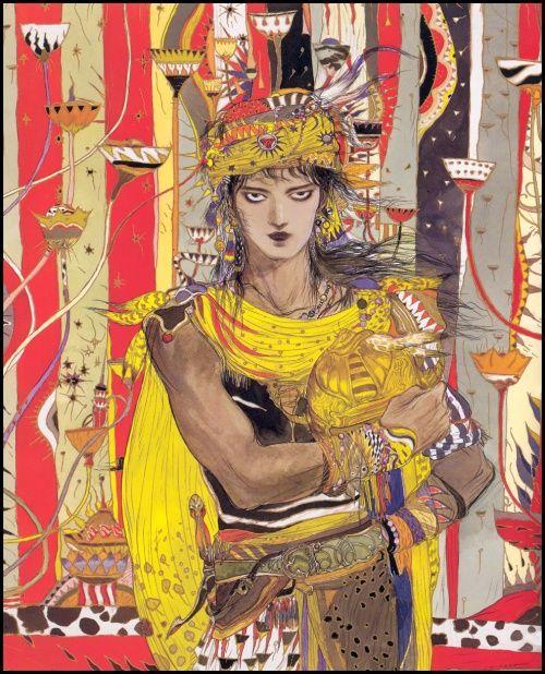 Ёситака Амано - синтез символизма и фэнтези (273 работ) (1 ...