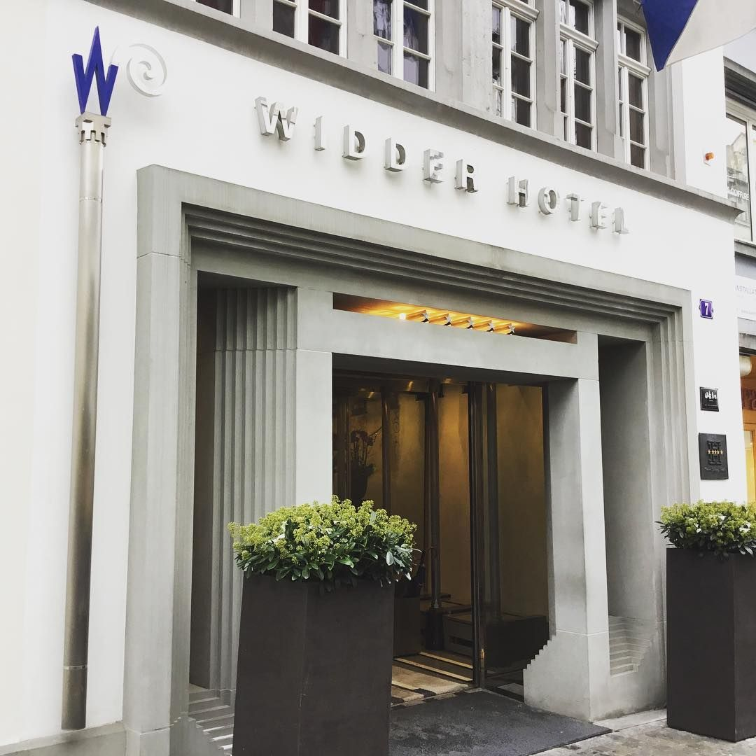 A Better View On Instagram Widder Hotel Zurich Boutique Hotel In