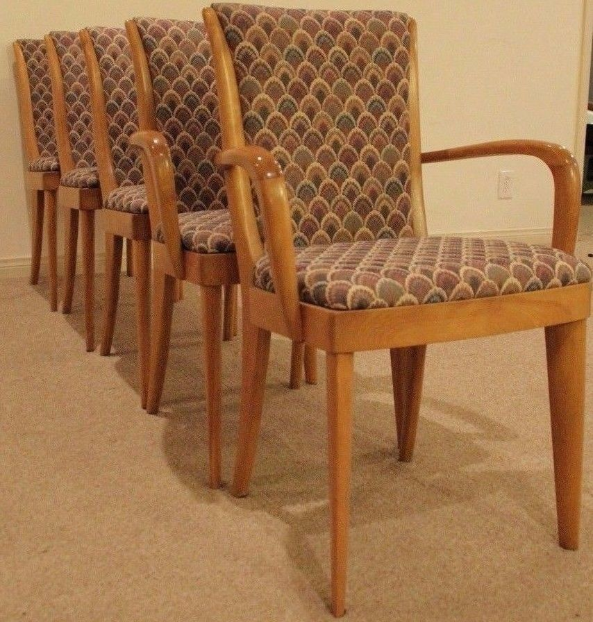 Heywood Wakefield Dining Chairs Westwood 157 Mid Century Modern