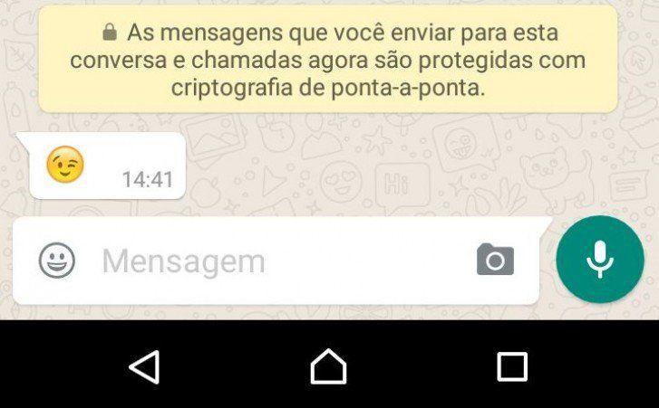 """WhatsApp: entende de forma simples o que é a """"criptografia de ponta-a-ponta"""""""