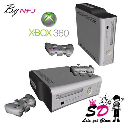 Nayara's SD NFJ Xbox 360 Elite Set | Custom Content Finds