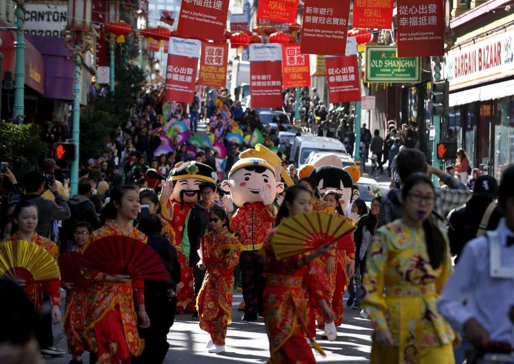 Flower Market Fair opens SF's Chinese New Year's