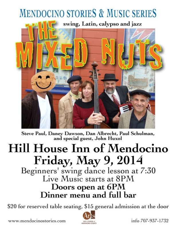 Mendocino, CA Mendocino Stories and Music Series - a