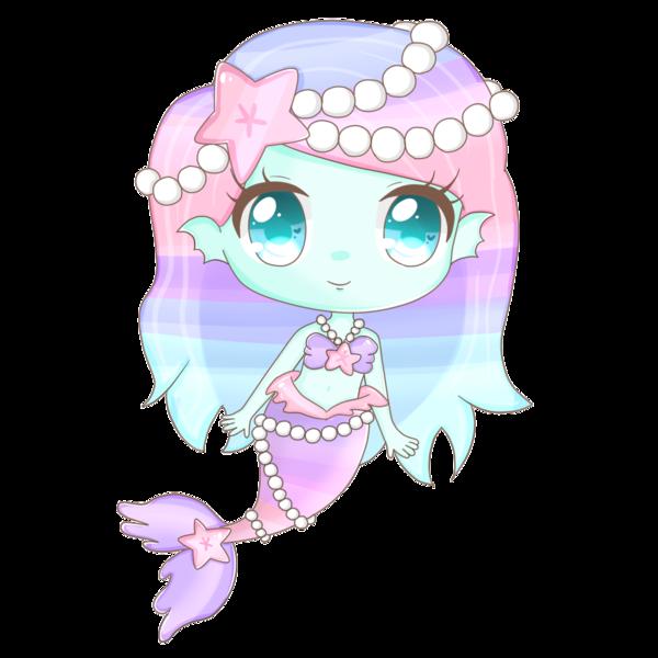 Pin By Esther Pretelin On Dibujos Chibi Anime Mermaid Mermaid Art Anime Chibi