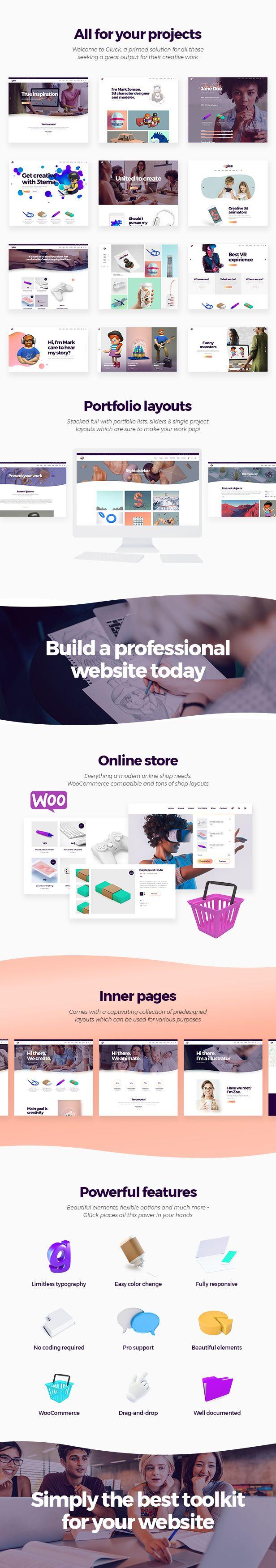 Pin by Bashooka Web & Graphic Design on WordPress Theme