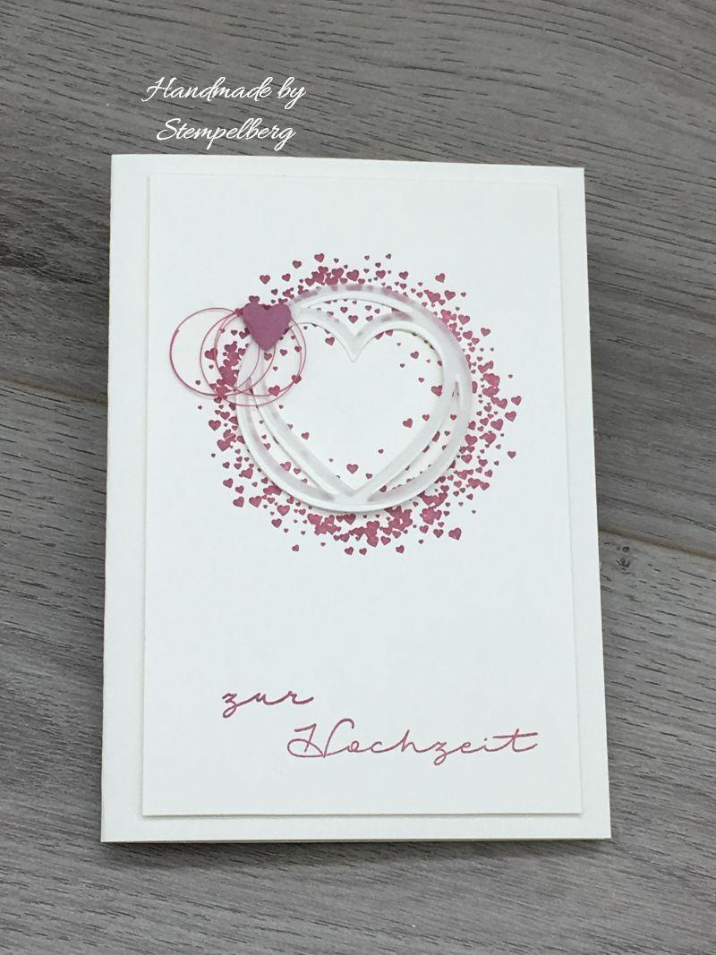 Ein paar Hochzeitskarten
